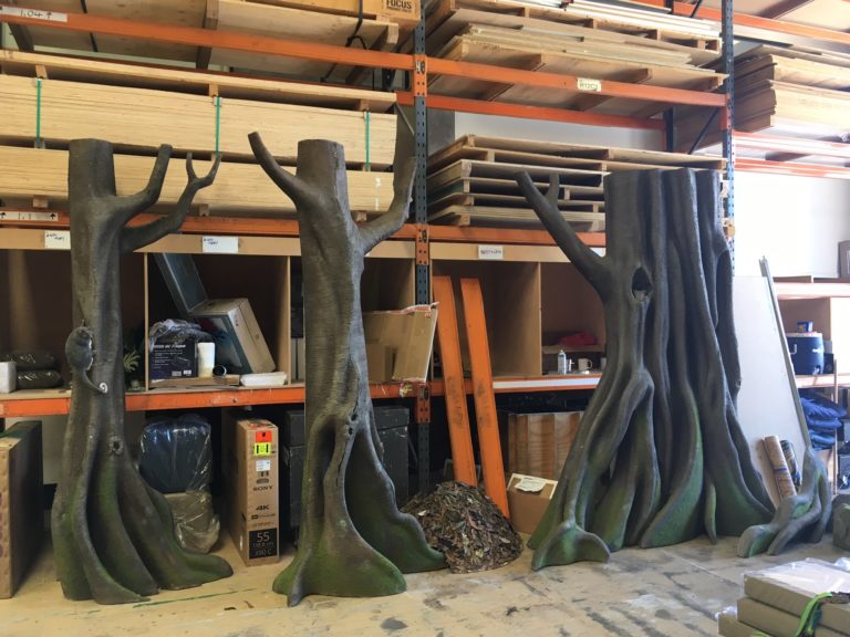 custom prop forest trees