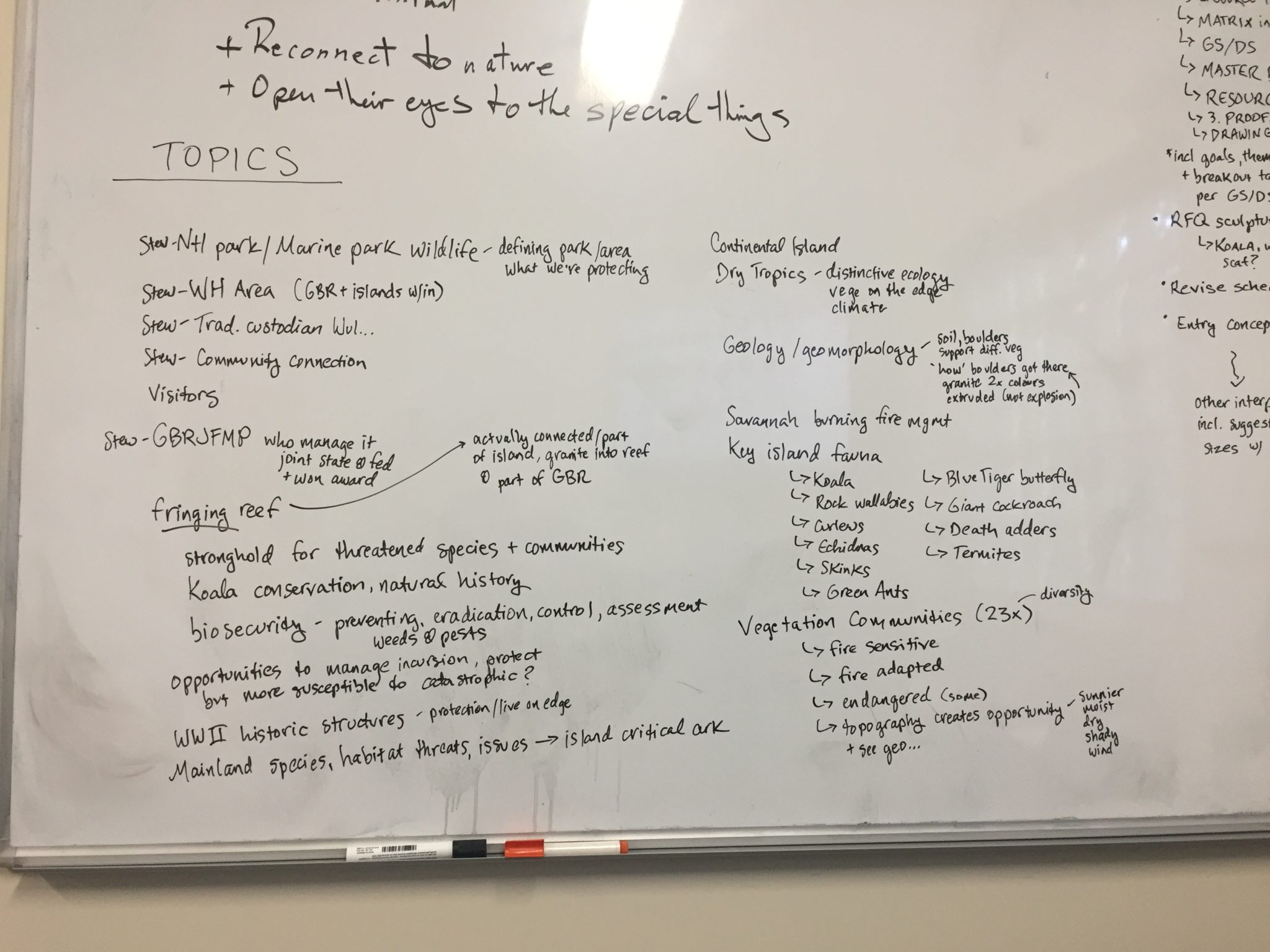 content mapping interpretive strategy